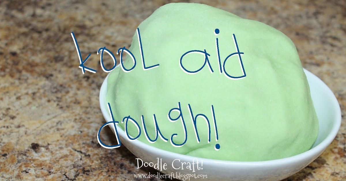 how to make edible kool aid playdough