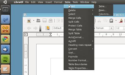 LibreOffice Unity