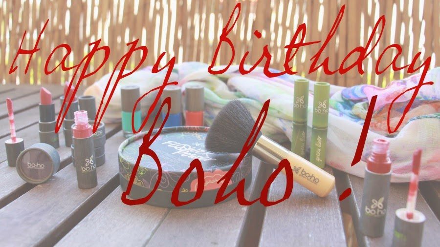 joyeux anniversaire boho cosmetics