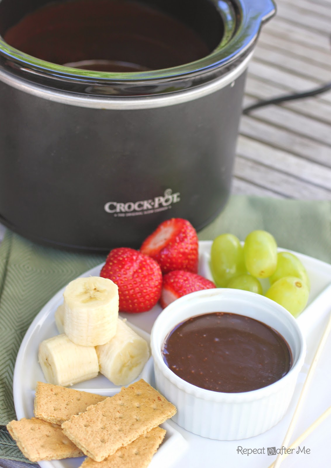 repeat crafter me crock pot chocolate fondue