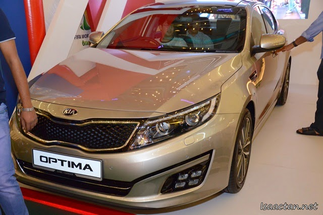 My next car, the Kia Optima