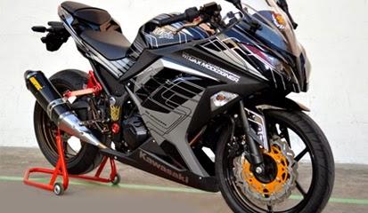 referensi modifikasi ninja 250 fi hitam