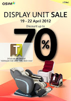 OSIM Display Unit Clear Sale