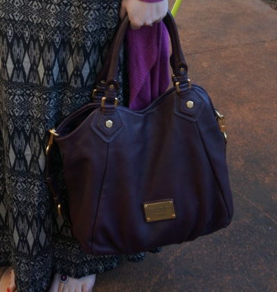 Marc By Marc Jacobs Classic Q Fran bag with gold hardware in carob brown