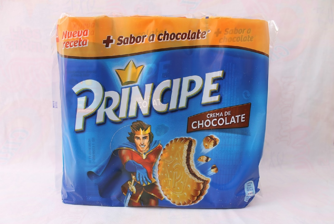 Galletas principe de chocolate