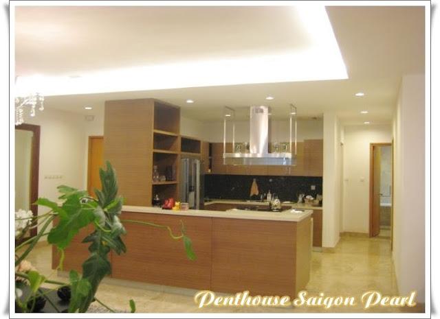 Cho thuê penthouse Saigon Pearl nội thất cao cấp