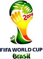 Logomarca oficial da Copa do Mundo de 2014