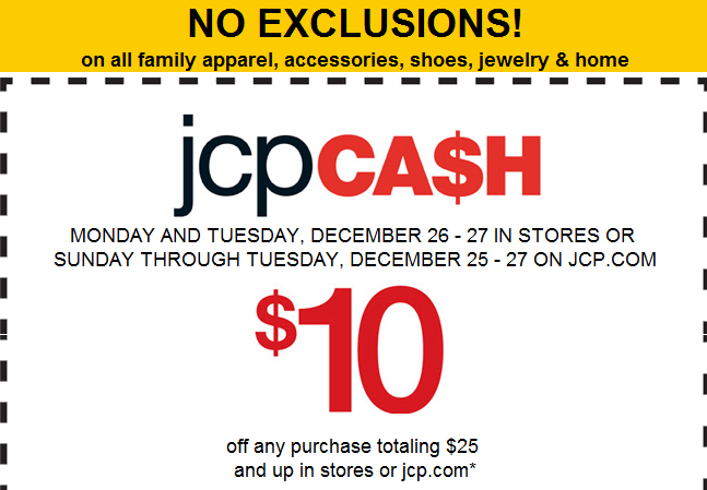 The Centsible Couponer: After-Christmas Sales: JC Penney, Macy's ...
