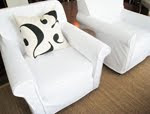 diy club chair slipcovers