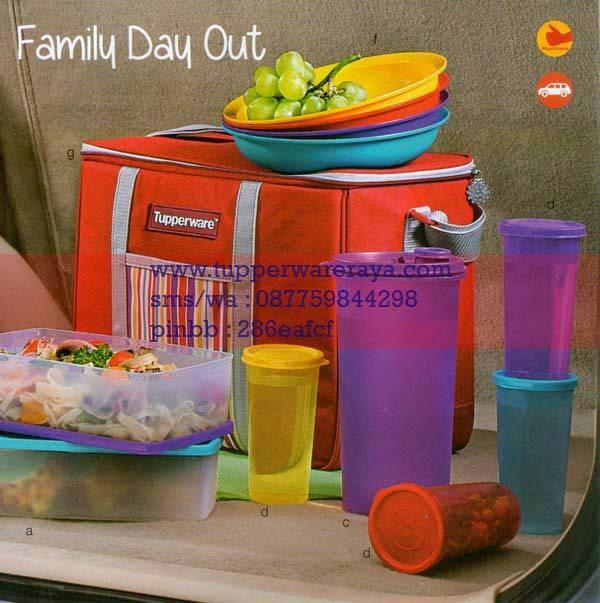 Katalog Tupperware Promo Januari 2015 Family Day Out