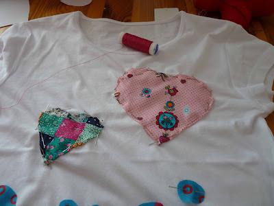 alfileres, aguaja, retales, tela, colores