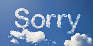 Contoh Permintaan Maaf