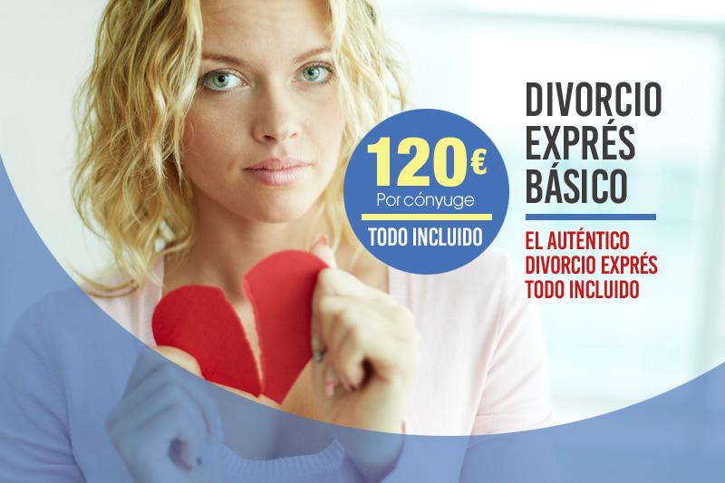 Divorcio exprés básico en Sevilla