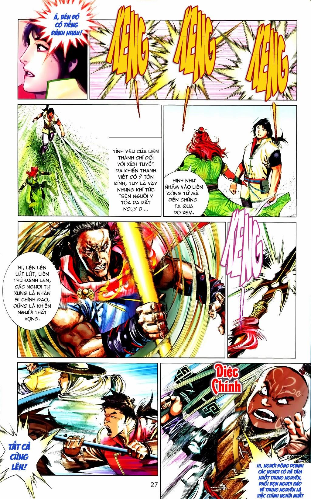 Phong Vân Chap 663 - Trang 27