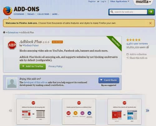 Add-Ons FireFox