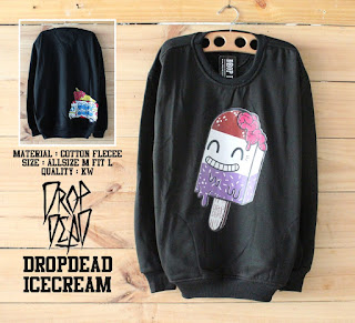 DR0PDEAD ICE CREAM BLACK - RMTWO STORE