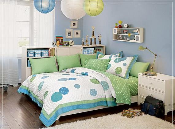 Blue Teen Girl Room Designs