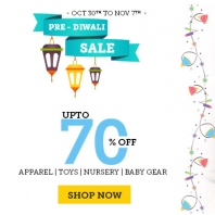 Babyoye Pre Diwali Sale Offer : Upto 70% OFF On Apparel, Toys, Nursery & Baby Gear : Buytoearn