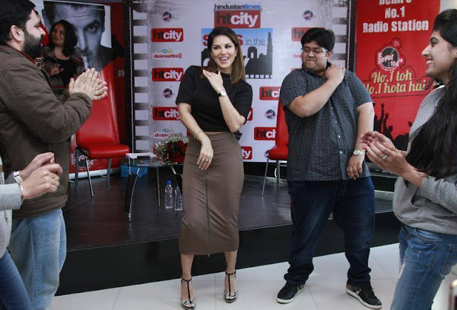 Sunny Leone Hot Pics From HT City Star In The City Event