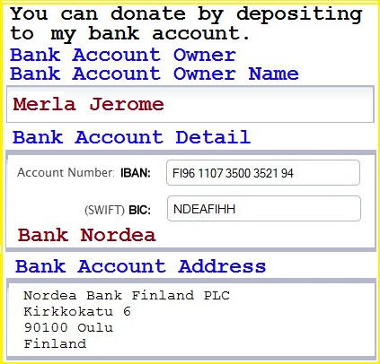 Deposit.+The+money+you+put+into+my+bank+account.+You+can+donate+by+depositing+to+my+bank+account.
