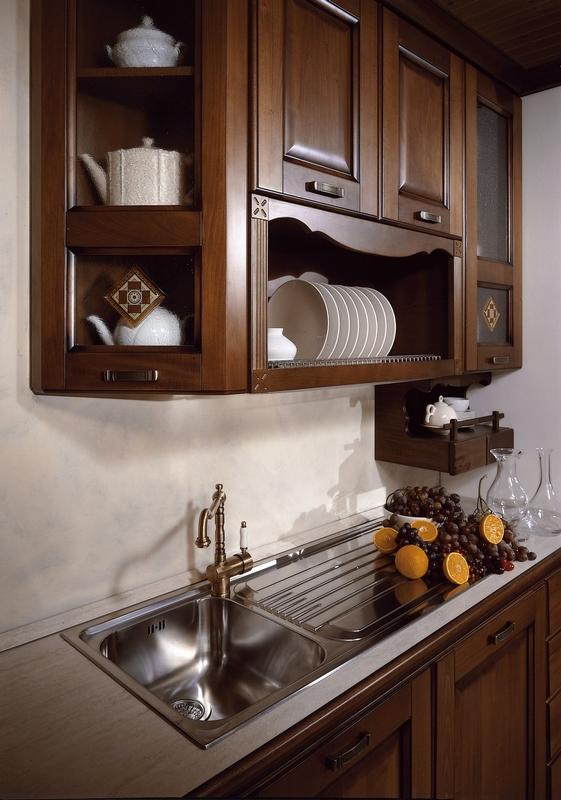 cuisine en tilleul | meubles de cuisine - Meuble Cuisine Italienne