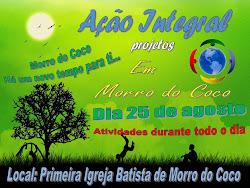 Ação Integral em Morro do Coco
