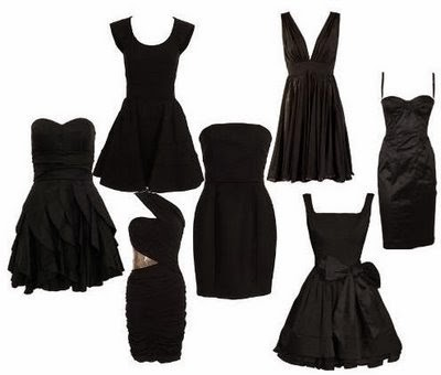 litlle black dress inspirations