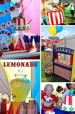 decoracion fiesta circo