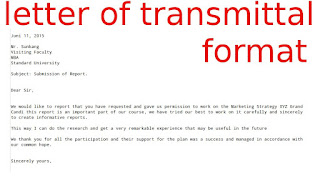 transmittal cover letter transmittal letter example the purpose of a letter of transmittal