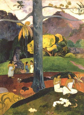 Paul Gauguin, Mata Mua, 1892 Madrid