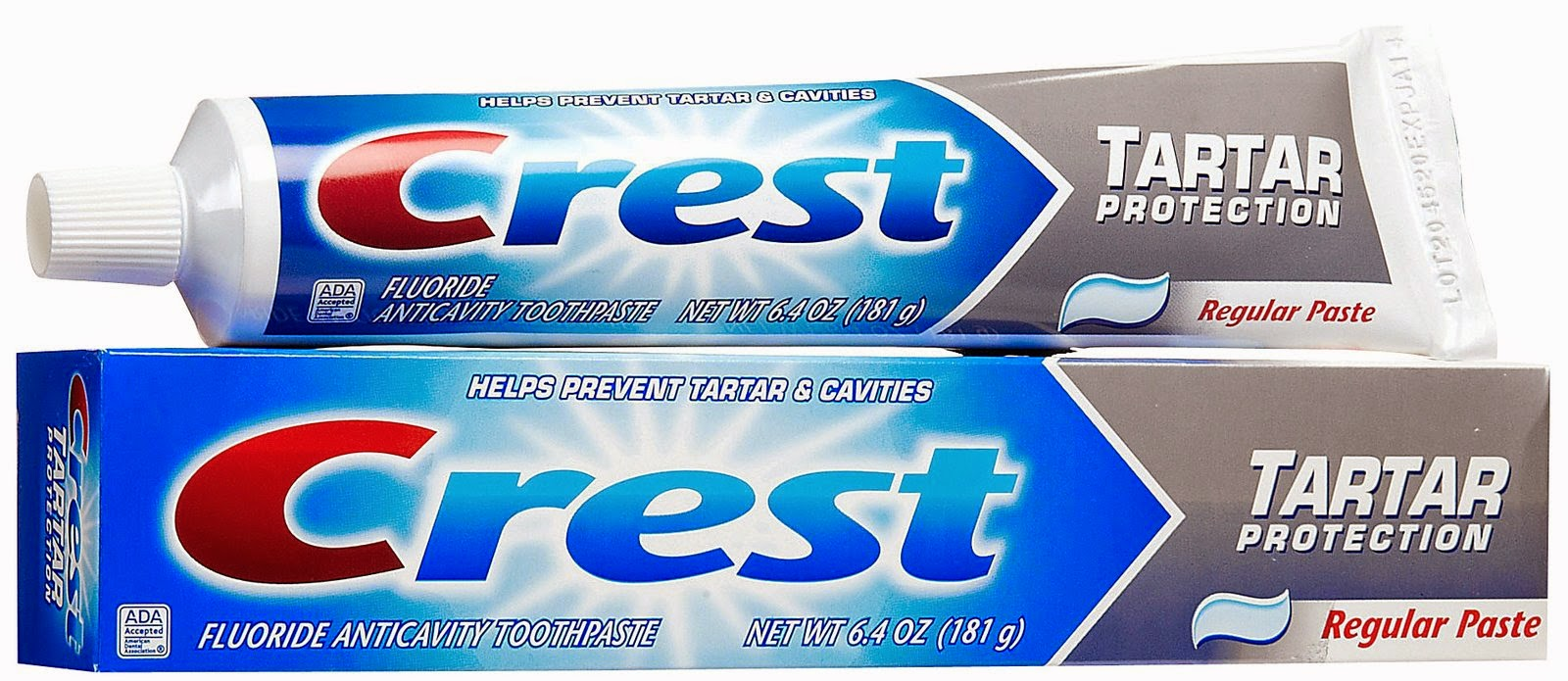 Crest Tartar Control Toothpaste – (Procter & Gamble. Inc.)