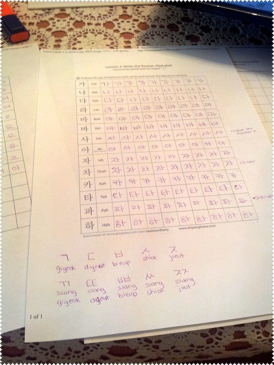 worksheets Learn Let&#39-s Learn in korean Let&#39-s Worksheets Forum ...