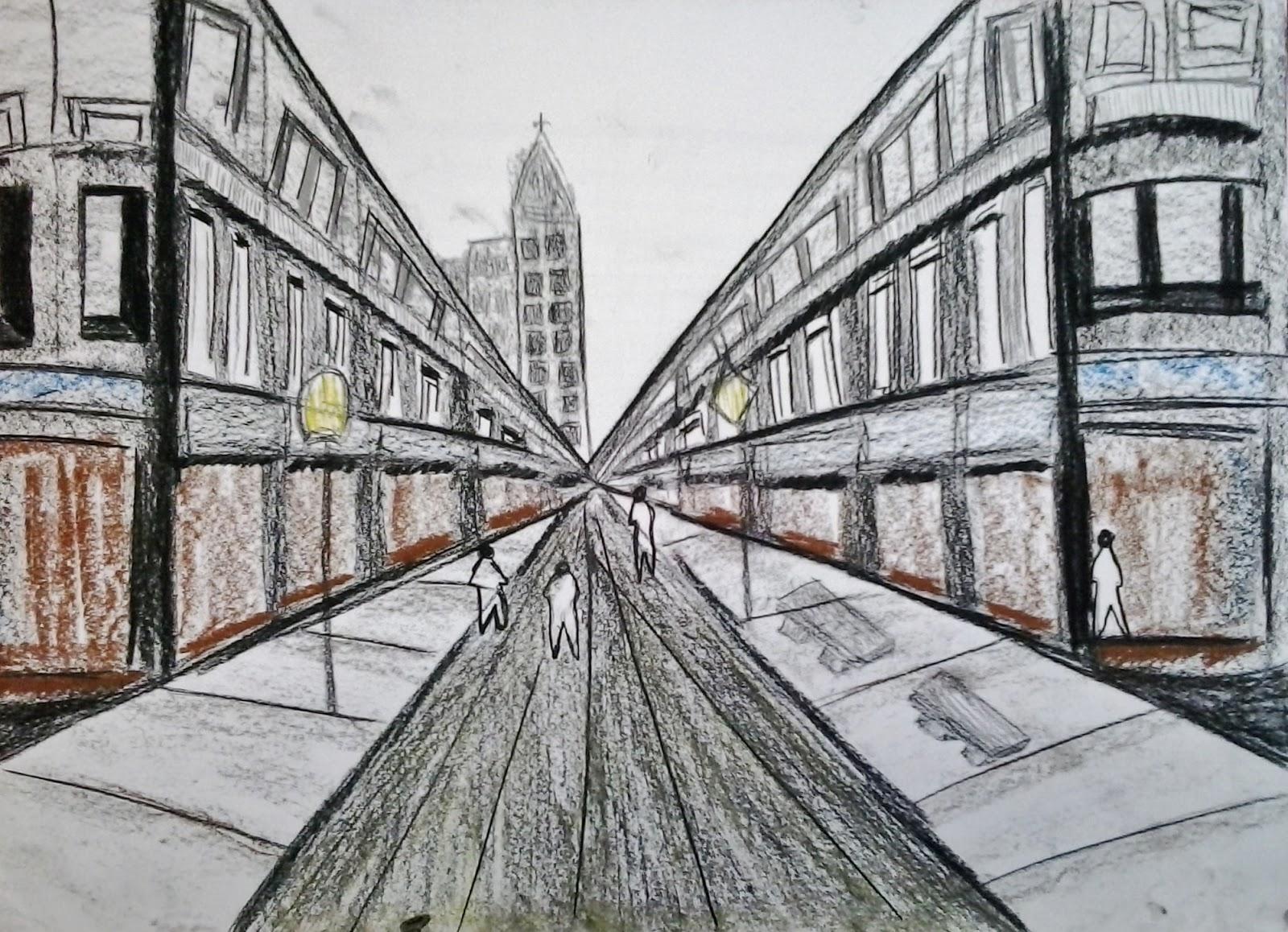 Arquitectura y dise o linea y color en perspectiva for Arquitectura en linea
