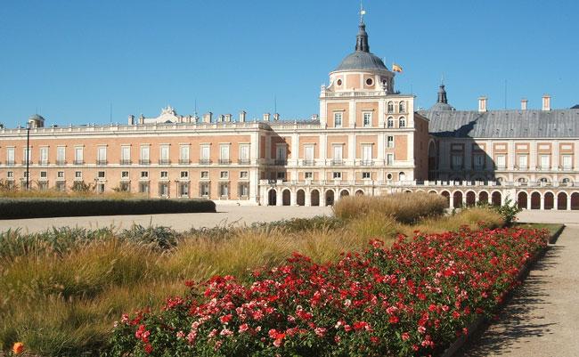 Aranjuez parterre y jard n del rey paisaje libre for Aranjuez palacio real y jardines
