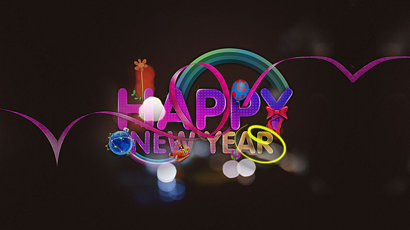 Free Happy New Year Wallpapers 2014  High Resolution Wallpaper
