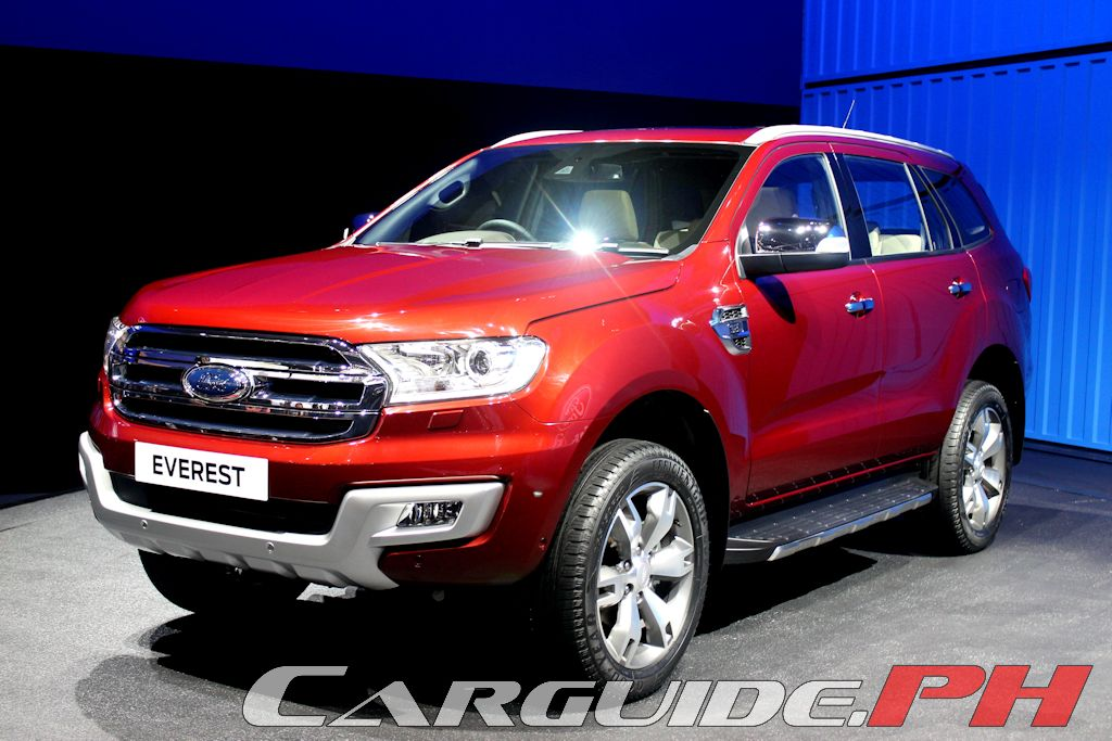 new car releases 2015 philippinesUPDATED Ford Unveils GameChanging Everest for ASEAN Market
