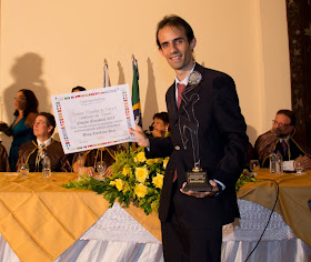 Blog Salvador por Stefano Diaz recebe Prêmio Medalha de Ouro à Qualidade do Brasil 2012!