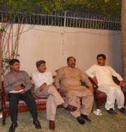 Hameed Bhutto,Altaf Aseem,Zulfiqar Behan and Suleman Wassan