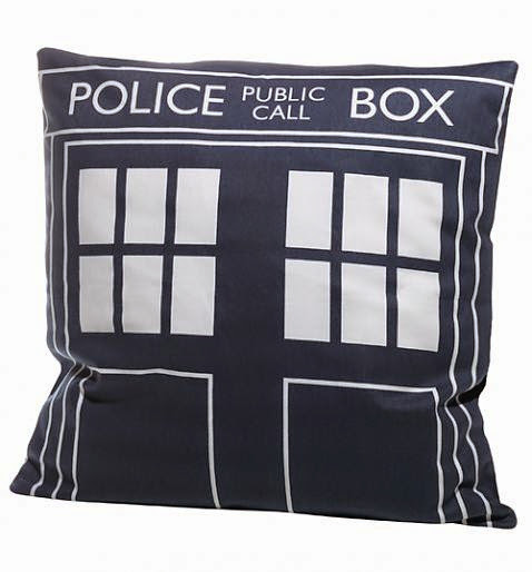 Tardi Blus, Doctor Who, Pillow, Merchandise