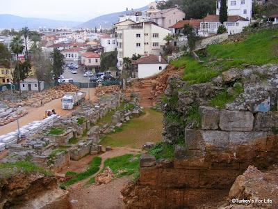 Fethiye Theatre Restoration Work