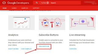 Cara Membuat Tombol Subscribe Youtube Di Blog Terbaru