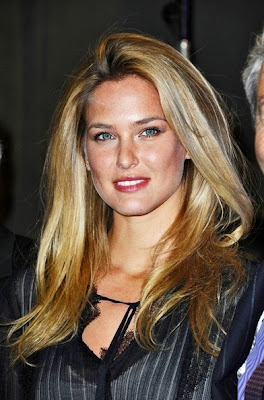 Bar Refaeli Long Straight Cut Hairstyle