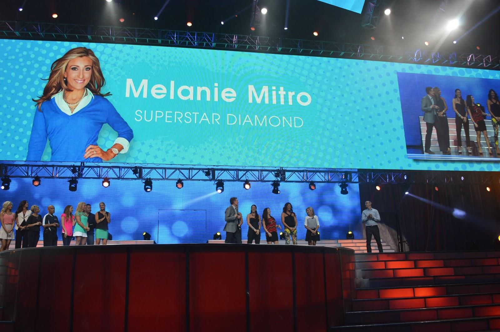 Super Star Diamond, Melanie Mitro, Team Beachbody Coach