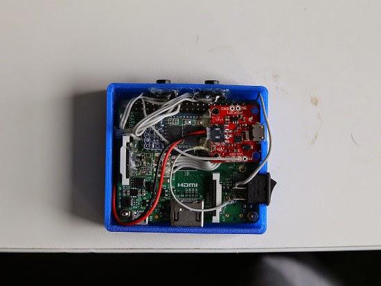 Câmera de ação com Raspberry Pi A+