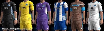 PES 2013 FC Porto kits 2015-2016 by Syirojuddin