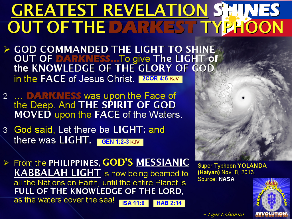 note the world commemorates the first year anniversary of yolanda haiyan the the most ferocious storm in recorded history this articles reveals the
