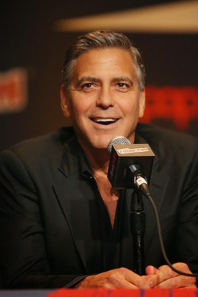 George Clooney at Comic Con