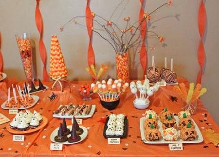 MuyVariadocom Buffets para Halloween Mesas para Fiesta