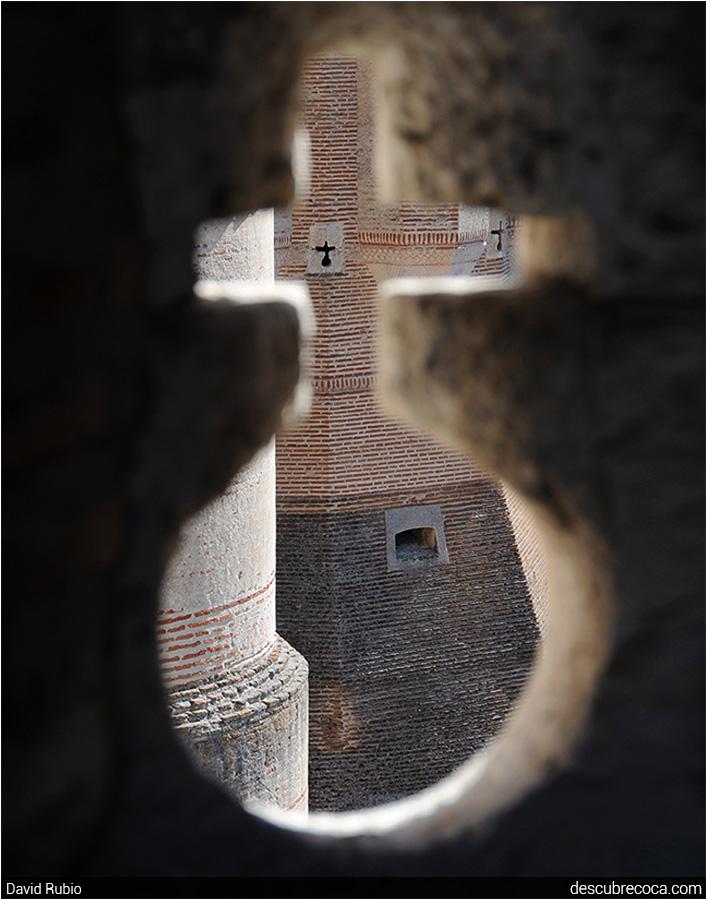 Linea de vision de los puntos de disparo de un bastion. Observando+desde+la+tronera