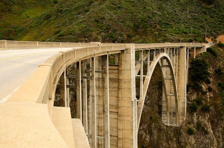 South Pacific Coast Highway Bixby Bridge